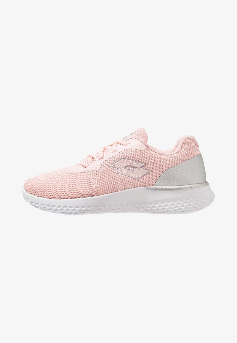Lotto - EVOLIGHT - Neutral running shoes - pink salt/silver metal