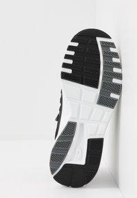 Lotto - BREEZE RISE - Sports shoes - all black/gravity titan - 4