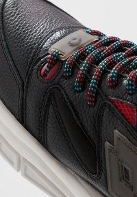 Lotto - SIRIUS - Sports shoes - all black - 6