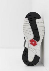 Lotto - SIRIUS - Sports shoes - all black - 4