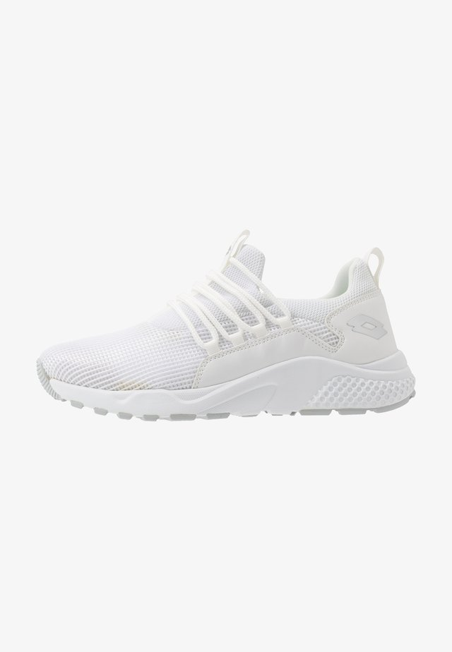 BREEZE RISE II - Sports shoes - all white/silver metal