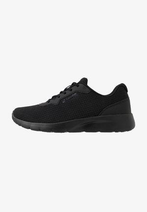 MEGALIGHT V - Sportschoenen - all black/gravitytitan