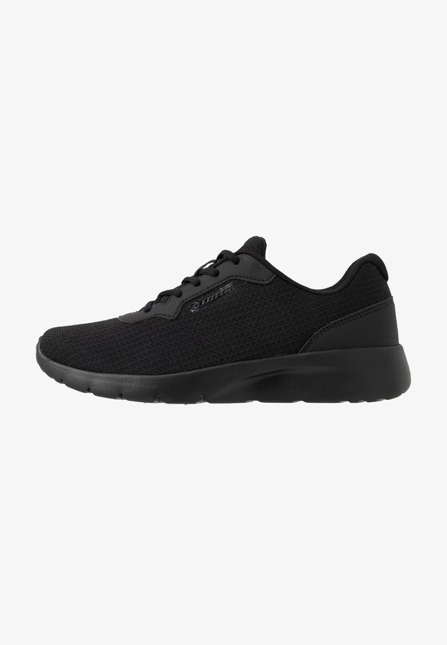 MEGALIGHT V - Sports shoes - all black/gravitytitan