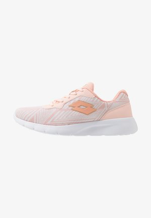 MEGALIGHT V - Obuwie treningowe - scallop shell/drink pink