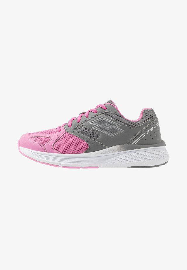 SPEEDRIDE 600 VII - Laufschuh Neutral - fuchsia pink/silver metal/cool gray