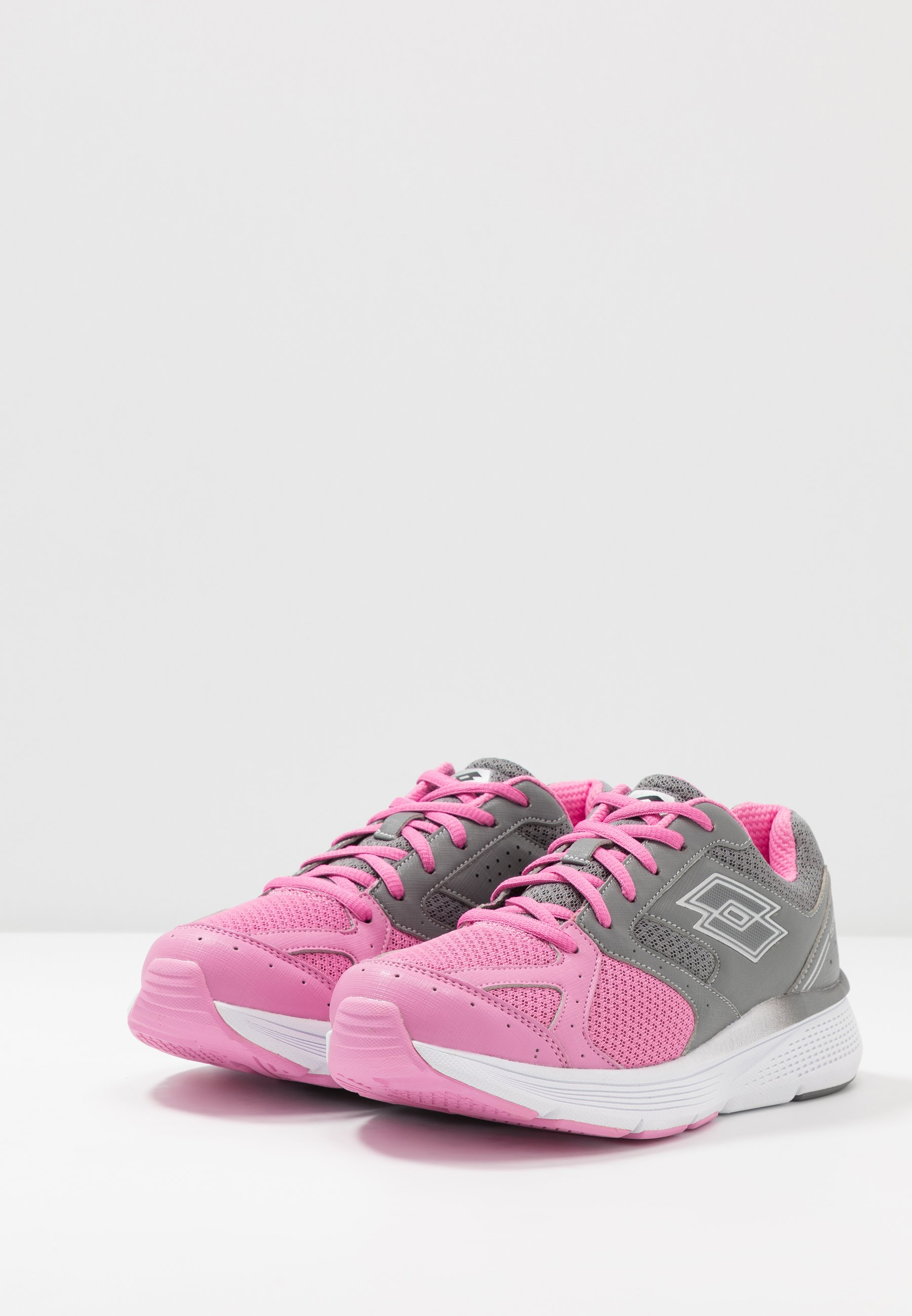 Lotto SPEEDRIDE 600 VII - Chaussures de running neutres - fuchsia pink/silver metal/cool gray