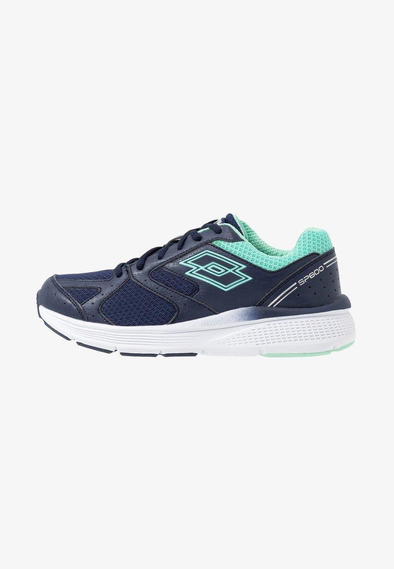 Lotto - SPEEDRIDE 600 VII - Obuwie do biegania treningowe - navy blue/beach green