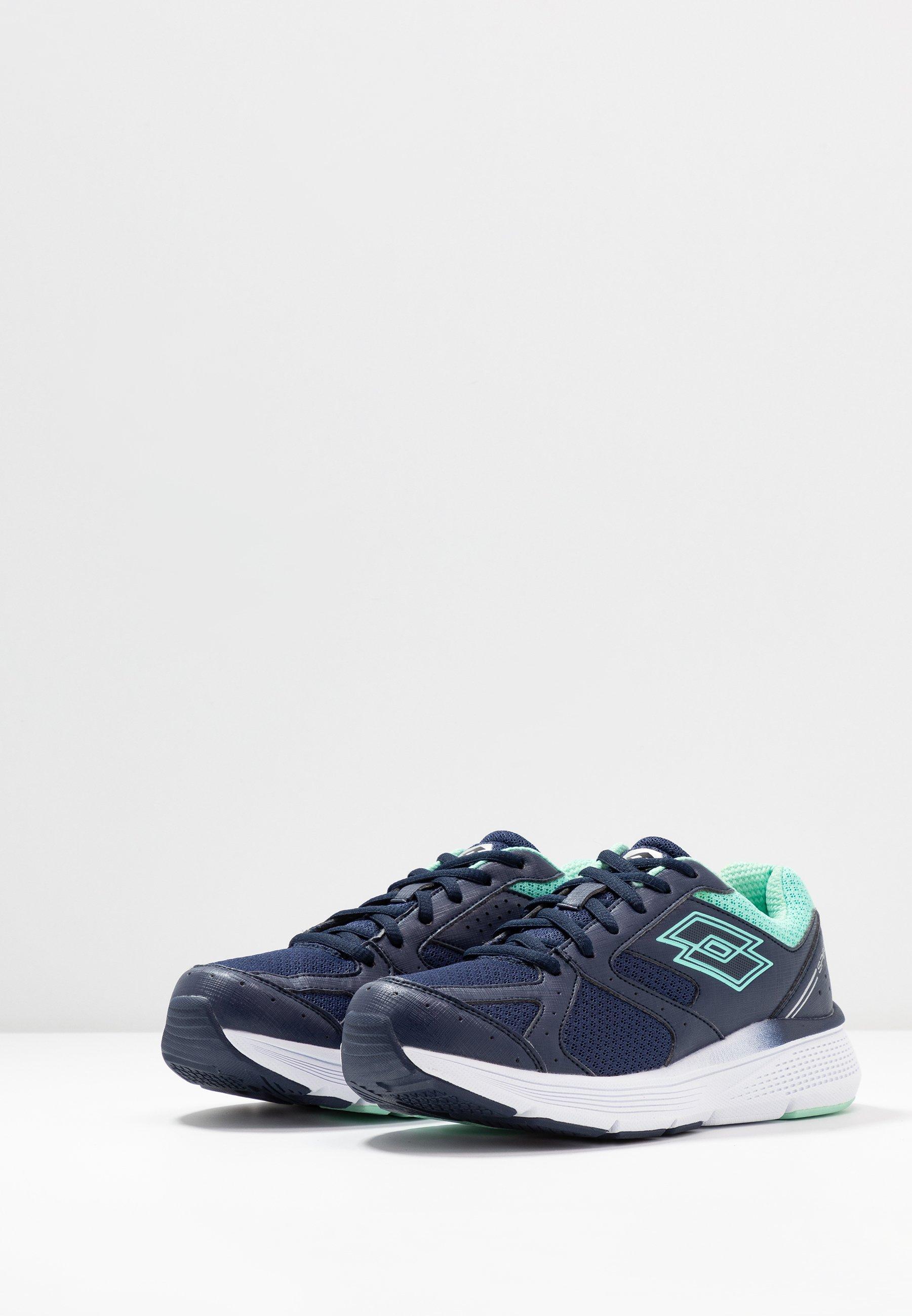 Lotto SPEEDRIDE 600 VII - Obuwie do biegania treningowe - navy blue/beach green