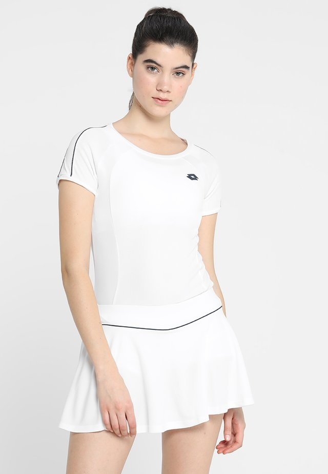 TENNIS TEAMS TEE - Print T-shirt - brilliant white