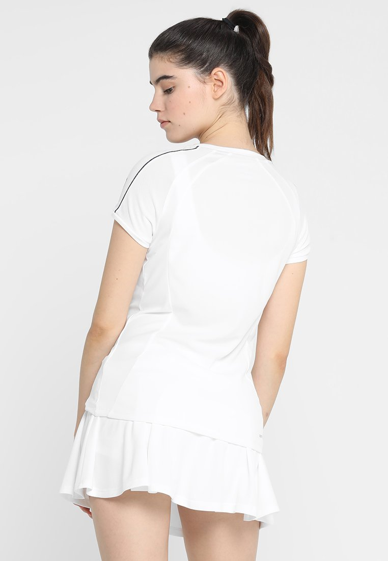 Lotto TENNIS TEAMS TEE - T-shirt con stampa - brilliant white 8PIfSnLo