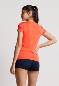 Lotto - TENNIS TECH TEE  - T-shirt basique - fiery coral - 2