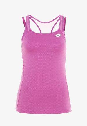 TENNIS TECH TANK 2-IN-1 - Camiseta de deporte - purple willow