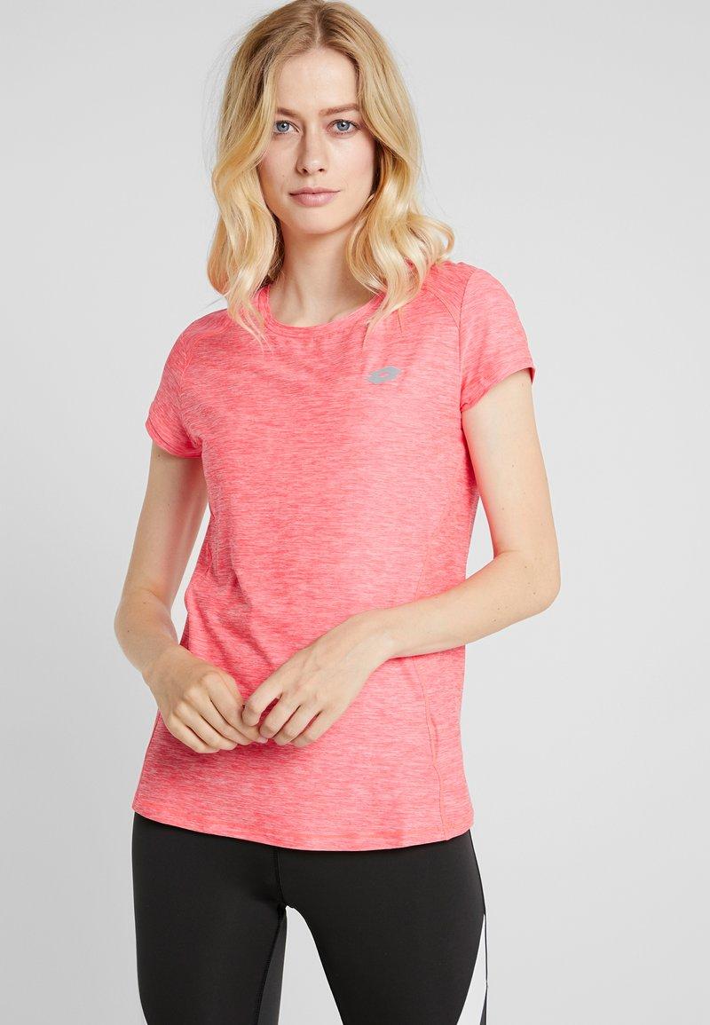Lotto - DINAMICO TEE - T-Shirt print - calypso pink