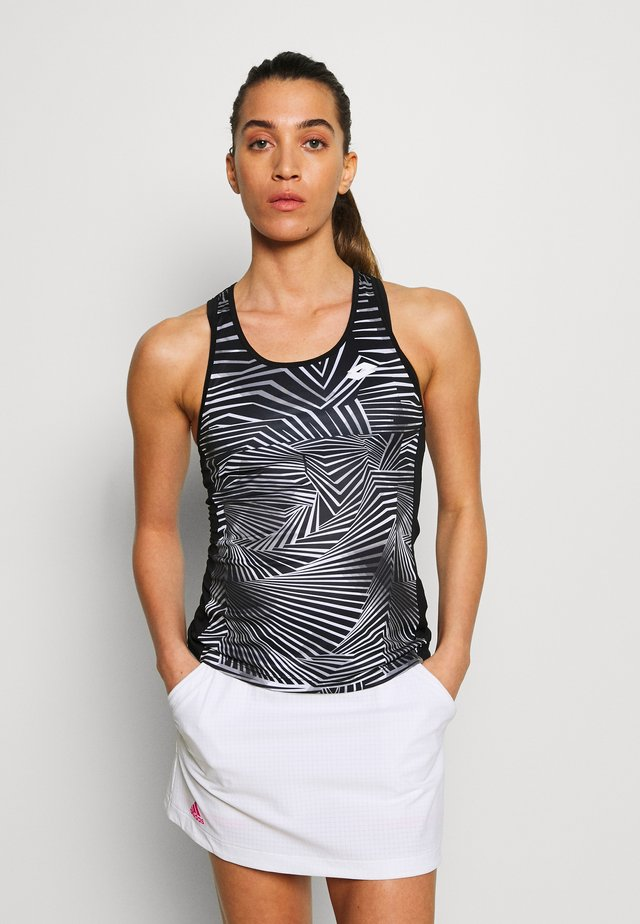 SUPERRAPIDA TANK - Sportshirt - all black