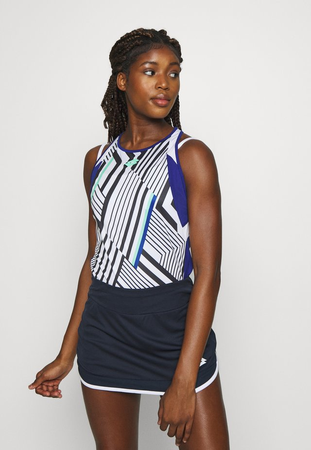 TOP TEN TANK  - Sportshirt - bright white/sodalite blue