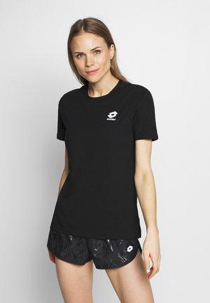 SMART TEE - T-shirt basic - all black/brilliant white
