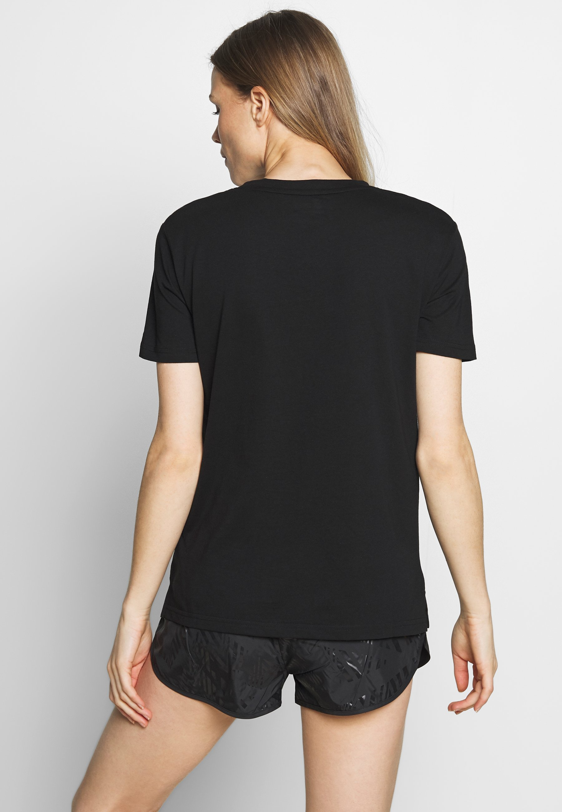 Lotto Smart Tee - Basic T-shirt All Black/brilliant White