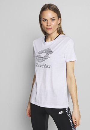 SMART TEE  - T-shirt z nadrukiem - brilliant white