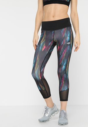 X-FIT CAPRIS - Tights - all black