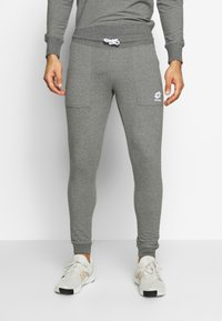 Lotto - SMART PANTS - Joggebukse - gryphon gray/brilliant white - 3