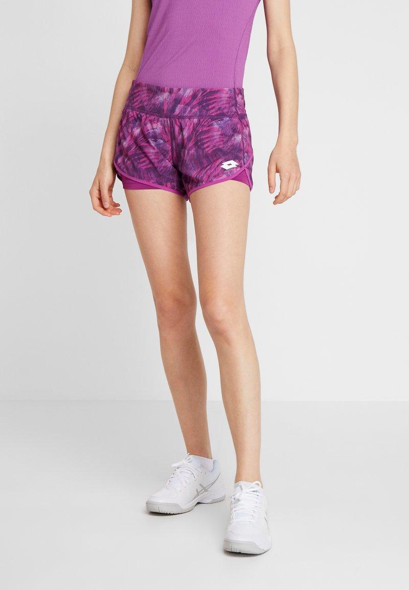 Lotto - TOP TEN SHORT - Sports shorts - purple willow