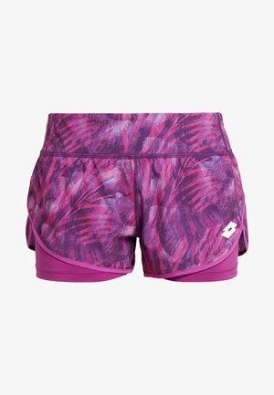 TOP TEN SHORT - Pantaloncini sportivi - purple willow