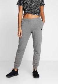 Lotto - PANTS RIB - Pantalones deportivos - castle gray - 0