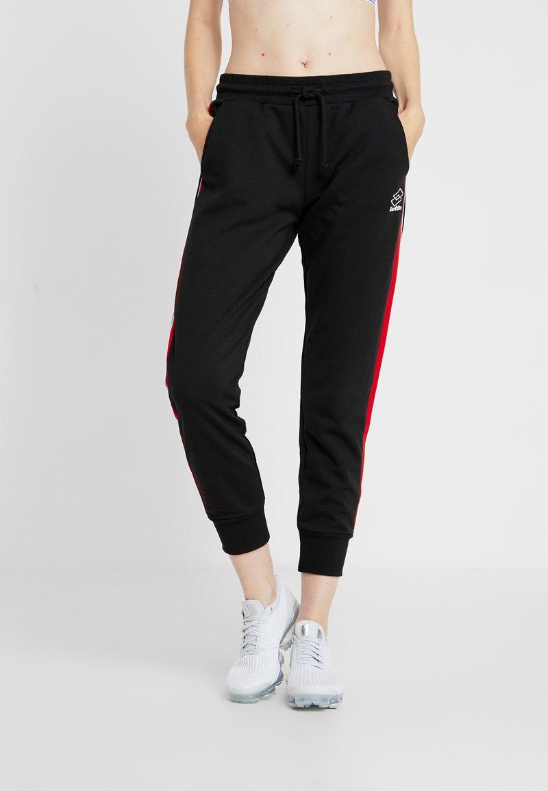 Lotto - ATHLETICA PANT - Jogginghose - all black