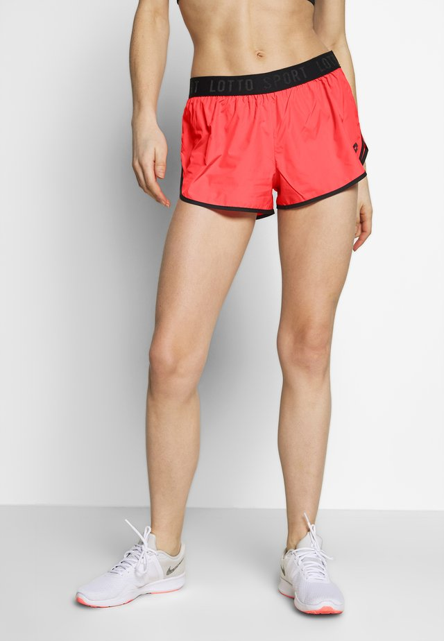VABENE - Sports shorts - red fluo