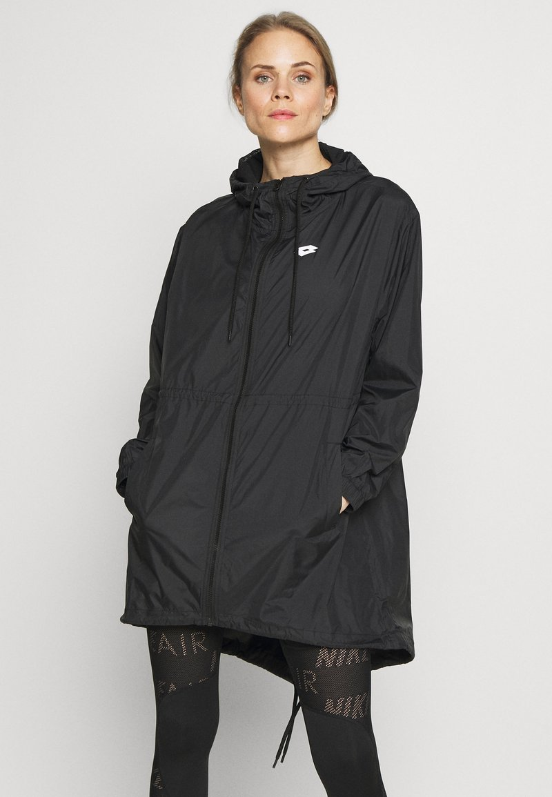 Lotto - VABENE PARKA - Veste de survêtement - all black