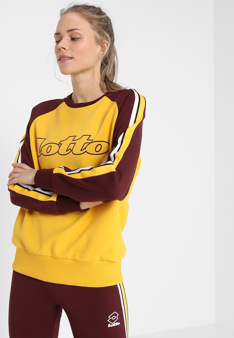 Lotto - ATHLETICA II - Sudadera - nectar yellow/royale red