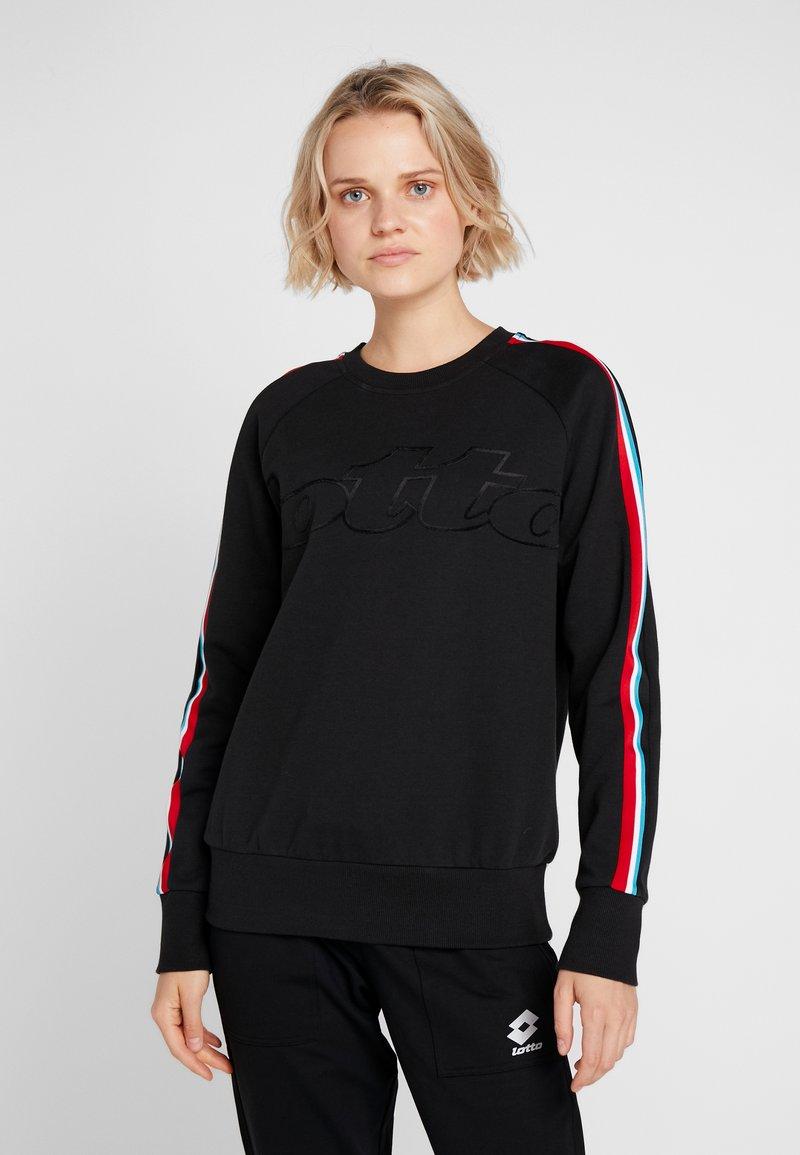 Lotto - ATHLETICA  - Sweatshirt - all black