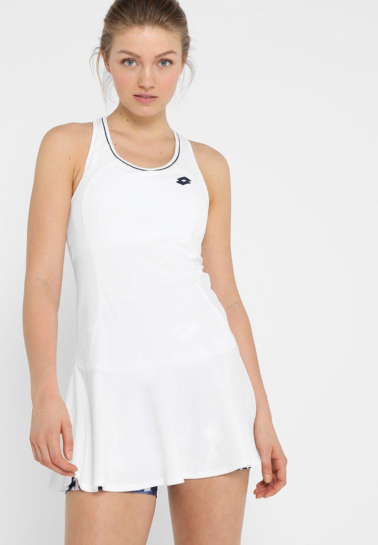 Lotto - TEAMS DRESS - Sportskjole - brilliant white