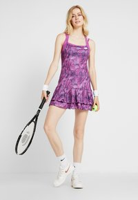 Lotto - TOP TEN DRESS 2-IN-1 - Abbigliamento sportivo - purple willow - 1