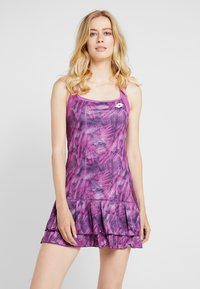 Lotto - TOP TEN DRESS 2-IN-1 - Abbigliamento sportivo - purple willow - 0