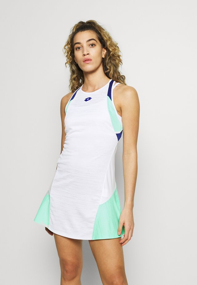 TOP TEN DRESS - Jerseyjurk - bright white/green cabbage