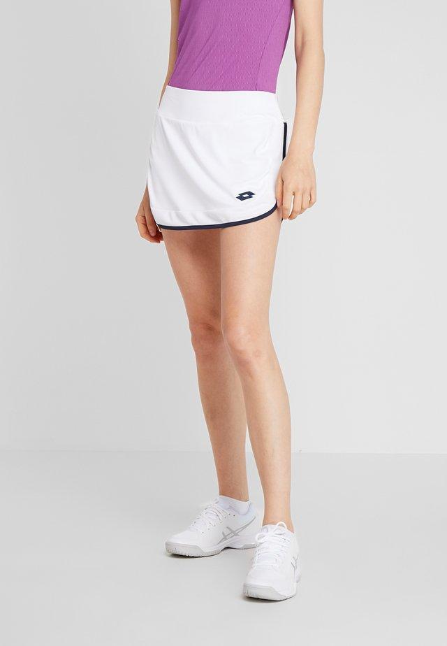 SQUADRA SKIRT - Spódnica sportowa - brilliant white