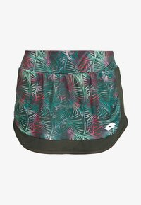 Lotto - SUPERRAPIDA SKIRT - Sports skirt - green resin - 4