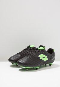 Lotto - STADIO 300 II SG6 - Chaussures de foot à lamelles - black - 2