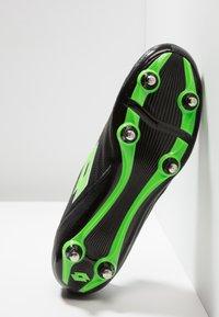 Lotto - STADIO 300 II SG6 - Chaussures de foot à lamelles - black - 4