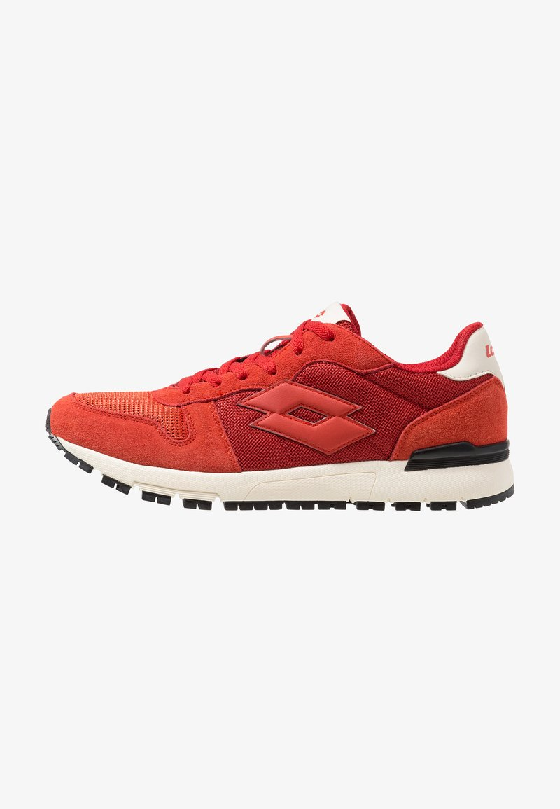 Lotto - RUNNER II - Sports shoes - soul red/love red/antique white