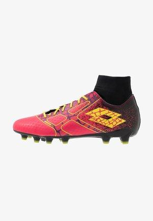 MAESTRO 300 II FG - Chaussures de foot à crampons - calypso pink/acacia green/all black