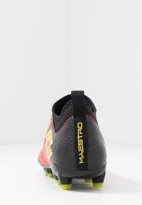 Lotto - MAESTRO 700 II FG - Chaussures de foot à crampons - calypso pink/acacia green/all black - 3