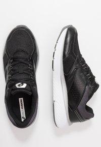 Lotto - SPEEDRIDE 600 VI - Chaussures de running neutres - all black/gravity titan/light asphalt - 1