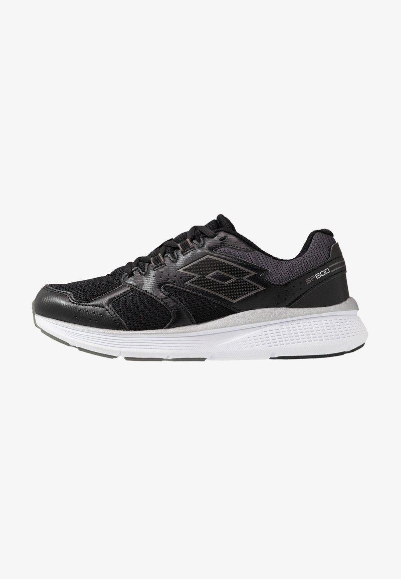 Lotto - SPEEDRIDE 600 VI - Chaussures de running neutres - all black/gravity titan/light asphalt