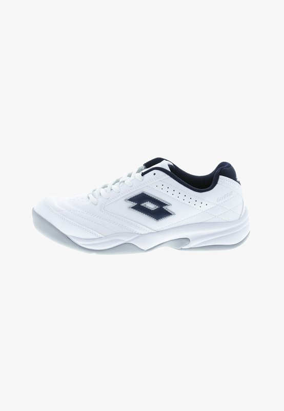 COURT LOGO 8 ID - Carpet court tennis shoes - white