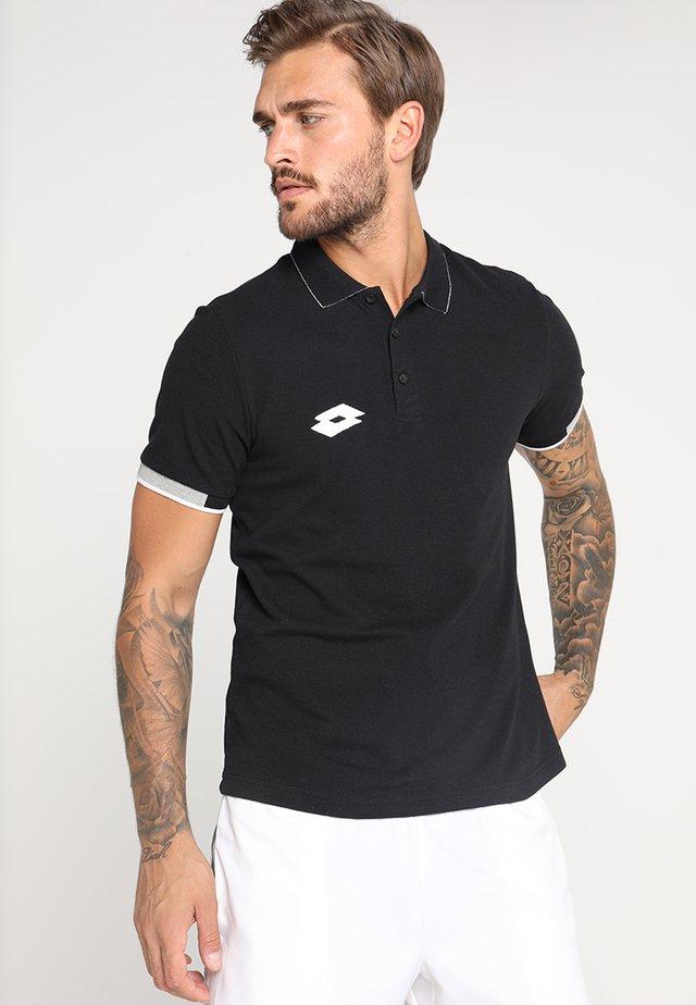 POLO DELTA - Poloshirts - black