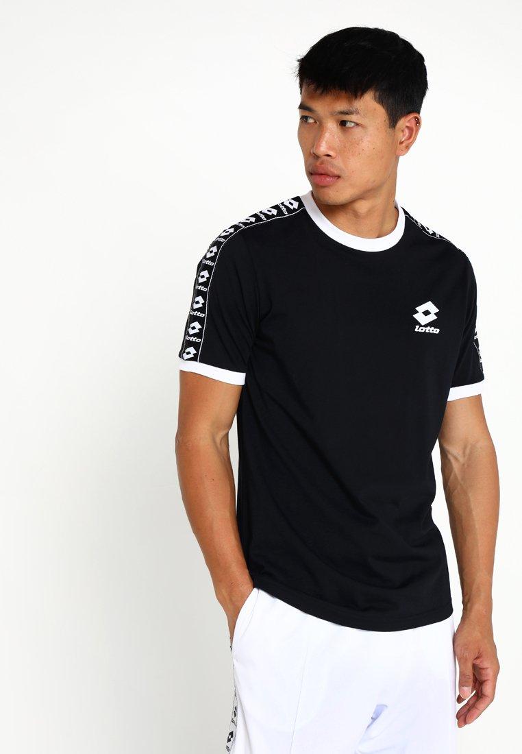 Lotto - ATHLETICA TEE - Print T-shirt - black