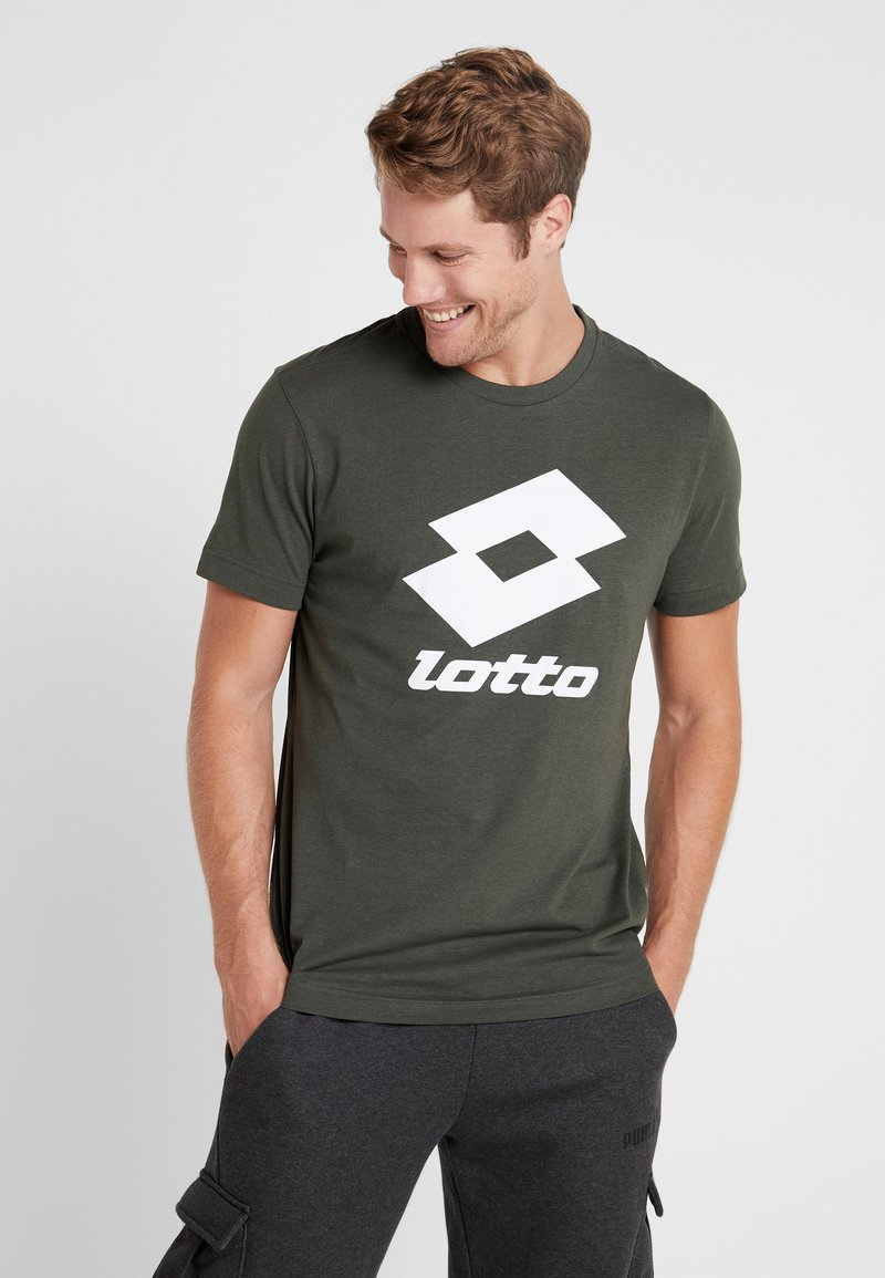 Lotto - SMART TEE - Print T-shirt - green