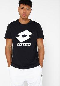 Lotto - SMART TEE - T-shirt imprimé - all black - 0